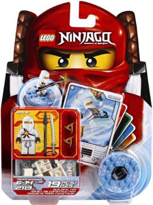 migliori prezzi e stili più freschi LEGO Ninjago Spinjitzu Spinners Zane Set Set Set  2113  il più recente