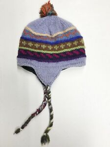 Image is loading GIRLS-OR-BOYS-HAND-MADE-HIMALAYAN-WOOL-HAT- 82ecd573d30