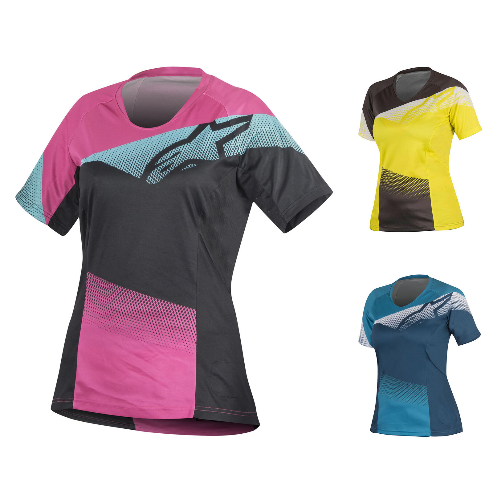 1782516 Alpinestars Ladies Womens Stella Mesa SS Jersey T-Shirt Mountain Biking