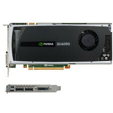 nVidia Quadro 4000 2GB GDDR5 PCIe x16 Video Card DVI DisplayPort V2 Second-