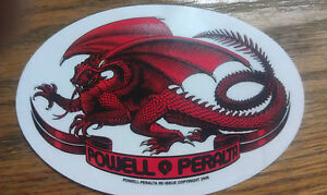 VINTAGE POWELL PERALTA Sticker, SKATE ONE CORPORATION, 2005