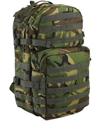 Kombat UK Waterproof Nylon US Style Military Hooded Poncho Basha DPM Camouflage