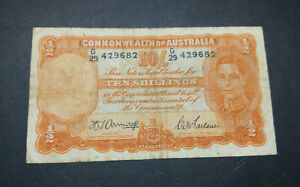 Commonwealth-of-Australia-paper-10-Shillings-note-G29-Armitage-McFarlane
