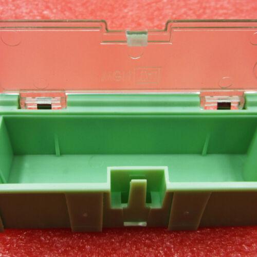 5PCS Anti-static SMT SMD Kit Lab chip Components Screw Storage Box Case NEW