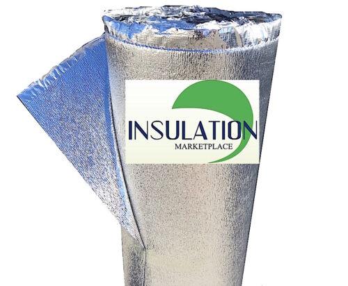 "SmartSHIELD 3mm 48/""x100/' Reflective Insulation roll Foam Core Radiant Barrier"