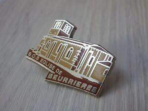 Pin-S-Vintage-Pins-de-Solapa-Coleccionista-Pins-Sos-Iglesia-De-Beurrieres-W087