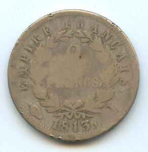 Napoleon The1st (1804-1814) 2 Francs 1813 I Limoges