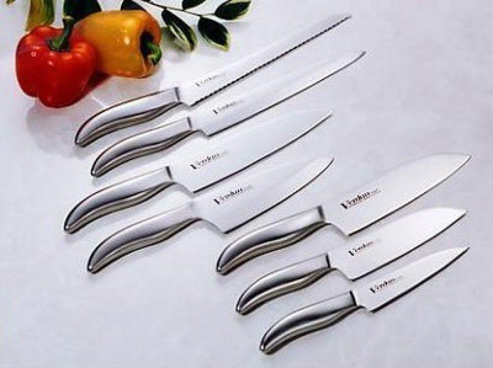 Nouveau Shimomura Verdun Chef Couteau de cuisine 7 Blade Set OVD-200 From Japan Free Ship