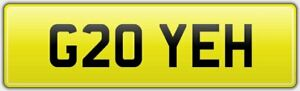 YEAH-PERFECT-FOR-NEW-2019-G20-MODEL-BMW-3-SERIES-CAR-REG-NUMBER-PLATE-G20-YEH