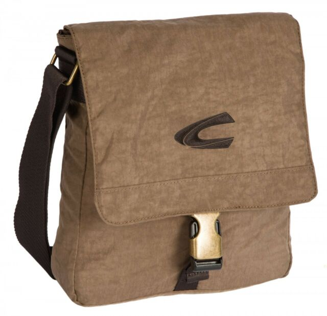 7ae020b2c0a Camel Active Journey Shoulder Bag 22 Cm Sand B00604-25 | eBay