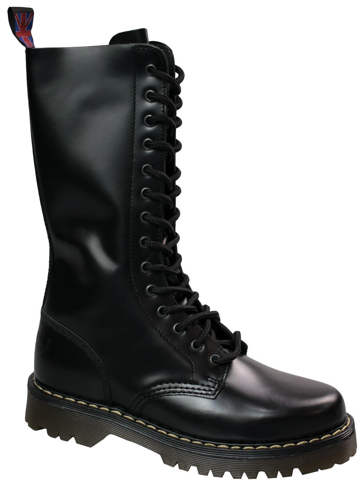 Alpha London 14-loch Boot 4431 Beige Sohle   Beige Naht  5046