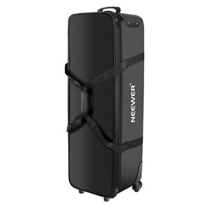 Neewer-Rolling-Camera-Case-Anti-shock-Detachable-Padded-Compartment-Tripod-Case