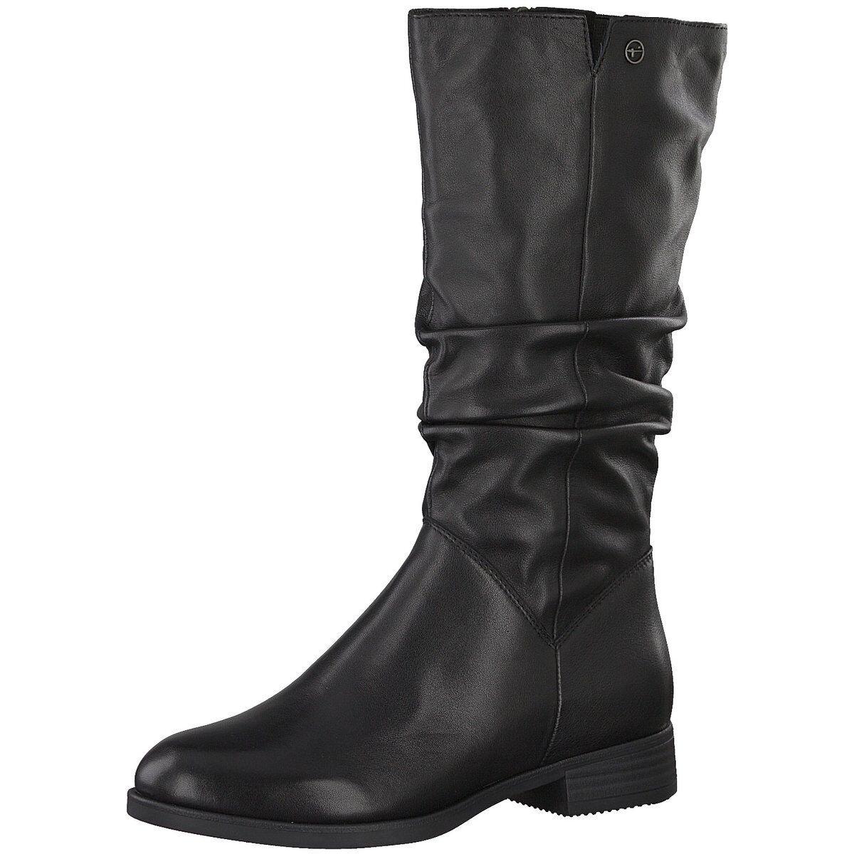 Tamaris Damen Stiefel Woms Stiefel 1-1-25345-21 001 schwarz 523012