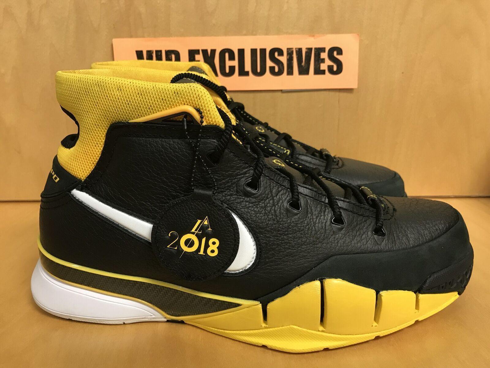 Nike Kobe 1 protro Varsity aq2728-003 maíz amarillo del sol aq2728-003 Varsity estrella exclusiva nueva zapatos para hombres y mujeres, el limitado tiempo de descuento 53183e