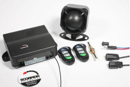 NEW SCORPION SA30 CAR VAN ALARM IMMOBILISER C//LOCKING