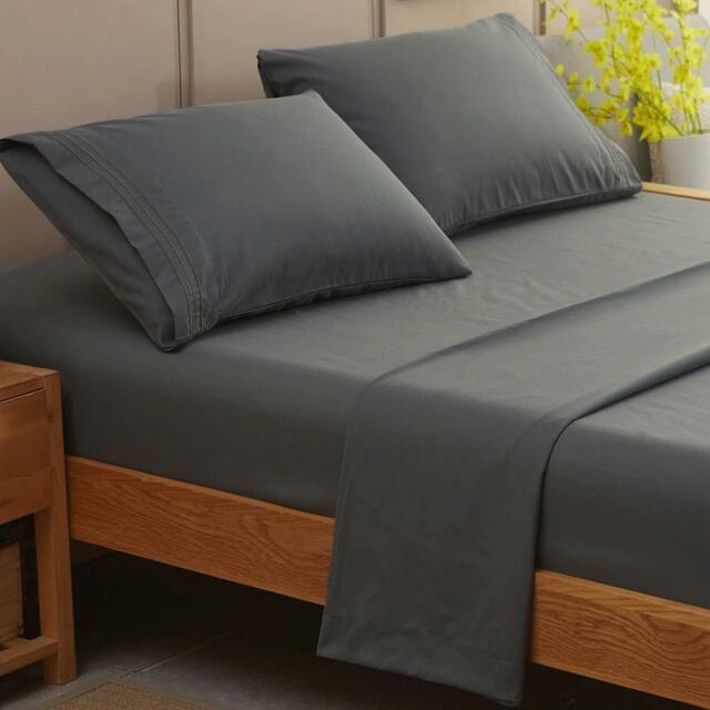 Sonoro Kate Bed Sheet Set Super Soft Microfiber 1800 Thread Count Luxury