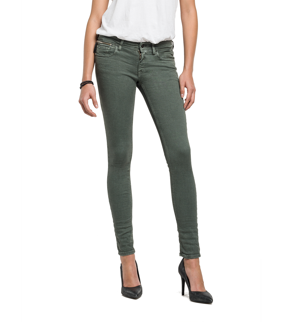 Replay-Jeans Skinny Fit Luz  Inch 30 31 Länge 32