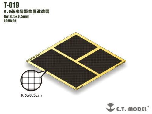 for common use 0.5mmx0.5mm ET Model Metal Net