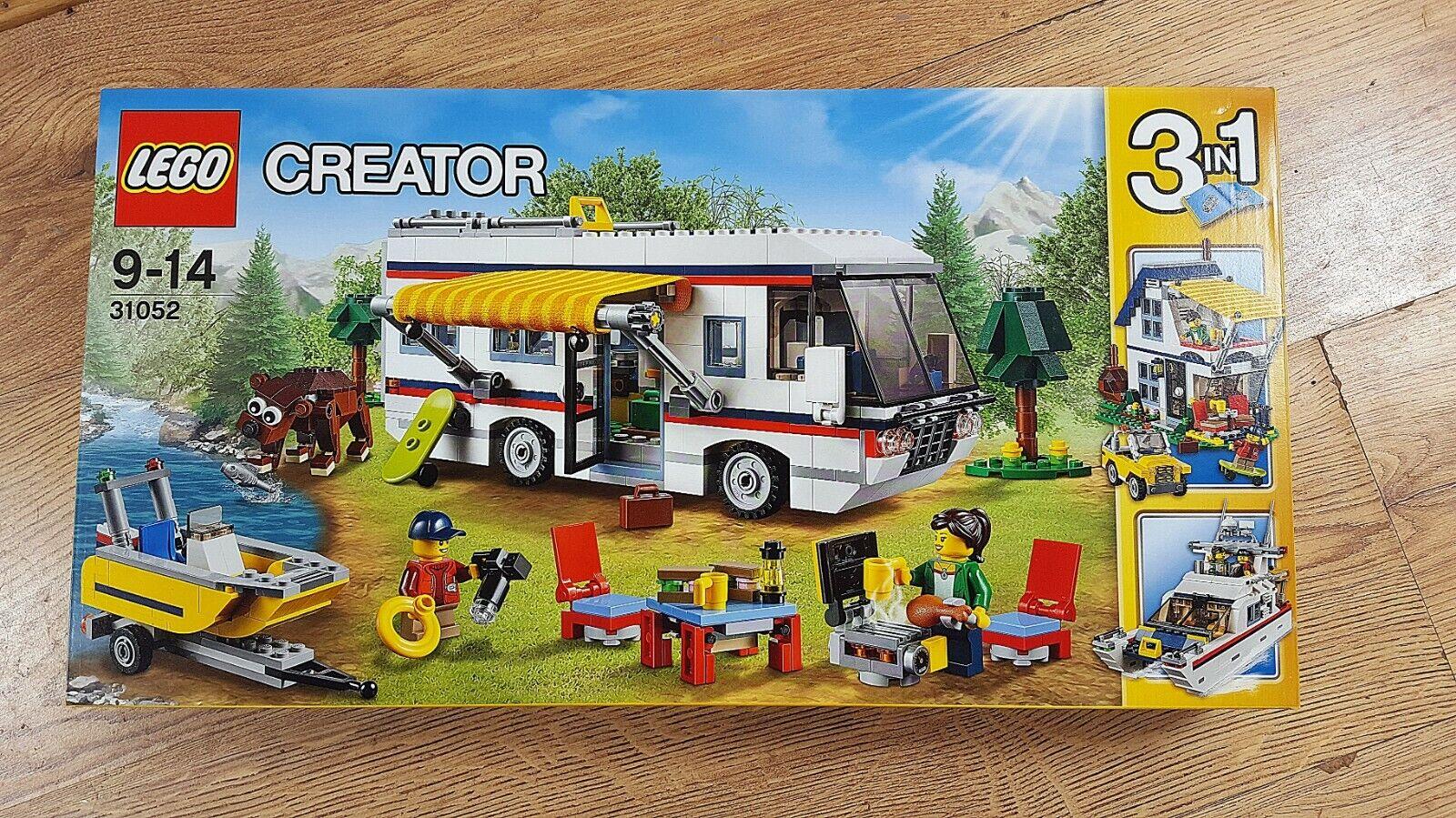 LEGO Creator 31052 Les vacances des virées   new, factory-sealed, très bon état