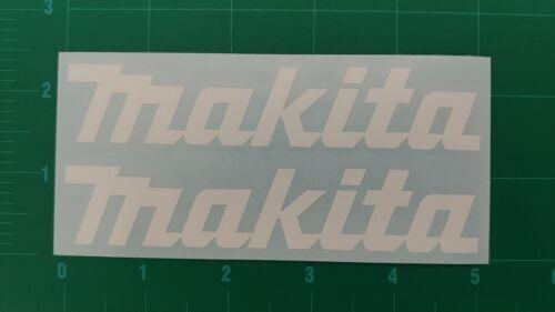 Makita Logo Decal Drill Driver Impact 18V  Bit Tool Sticker Reciprocating Saw