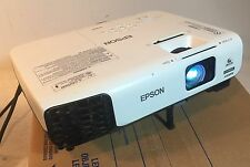 EPSON VS335W HDMI LCD Projector 1080i/720p PC/MAC 2700 Lumens / Burn/Read
