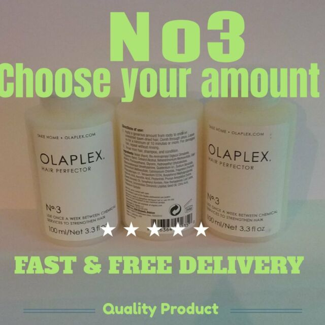 Olaplex,( choose your own)  Number 3 Hair Perfector,  Fast &Free delivery
