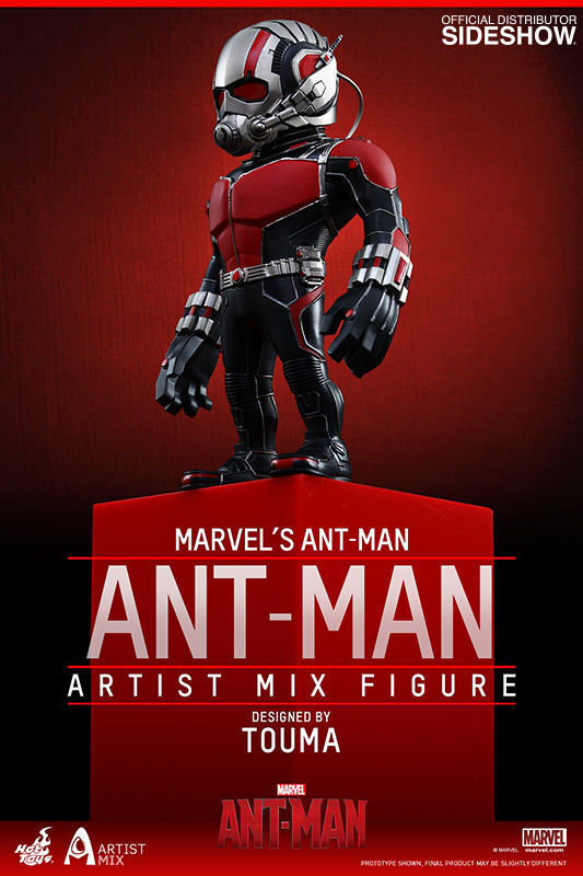 Marvel Ant-Man Artist Mix Collection by Hot Toys