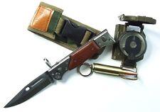 KNIFE AK 47 KALASHNIKOV  RUSSIA USSR CAMPING ALLOY HUNTING CAMPING COVER FISHING