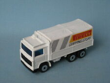 Matchbox Volvo Tilt Truck Pirelli Tyres Tires Transport Toy Model Car UB 70mm