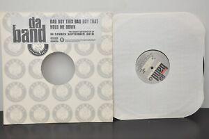 Bad Boy's Da Band; Bad Boy This, Bad Boy That, Hold Me Down Promo Label 2003 LP