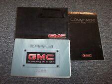 2000 GMC Safari Van Owner Owner's Operator Guide Manual Set SL SLE SLT 4.3L V6