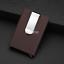Acier Inoxydable 1pc Slim ID carte de crédit Porte-monnaie clip sac à main Portefeuille USA