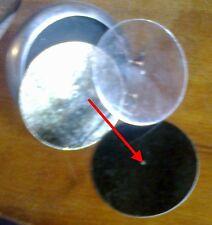 1 Mica ambré reproducteur Reproducer Pathé gramophone / mesure jusqu'à 55 mm