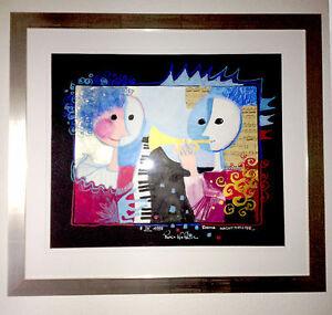 Rosina Wachtmeister Original Gemälde 60x50 Cm Mit Rahmen Ebay