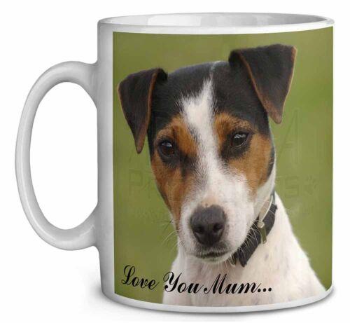 Jack Russell Terrier Dog /'Love You Mum/' Coffee//Tea Mug Christmas S AD-JR57lymMG