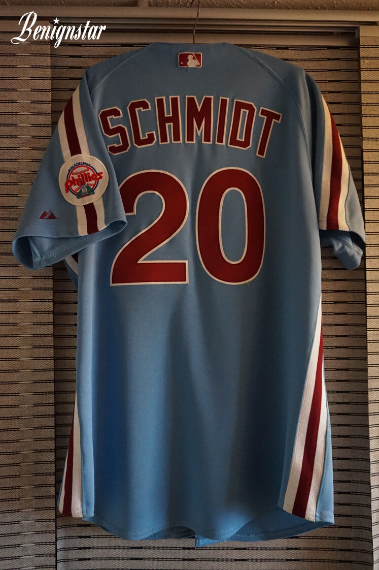 Mike 1987-1988 Schmidt Majestic Phillies Authentic Replica 1987-1988 Mike Road Jersey 4493d7