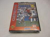 World Championship Soccer Ii (sega Genesis) Brand New, Factory Sealed