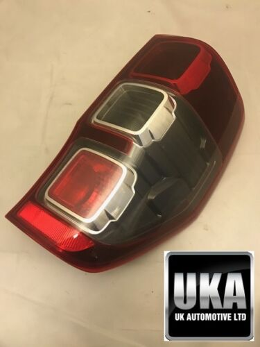 FORD RANGER WILDTRAK 2012-2019 REAR TAIL LIGHT LAMP LENSE LENS DRIVERS OFFSIDE