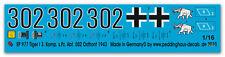 1/16 Decals Tiger I s.Pz. Abt 502, Ostfront 44  977