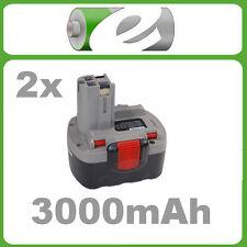 2x Akku 3000mAh f Bosch Bosch GLI 14.4V GDR 14.4V/N PSR1440/B PSR1440 14.4VE-2(/