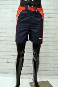 Costume-UMBRO-Uomo-Taglia-Size-L-Mare-Piscina-Bagno-Shorts-Man-Pantaloncino-Blu