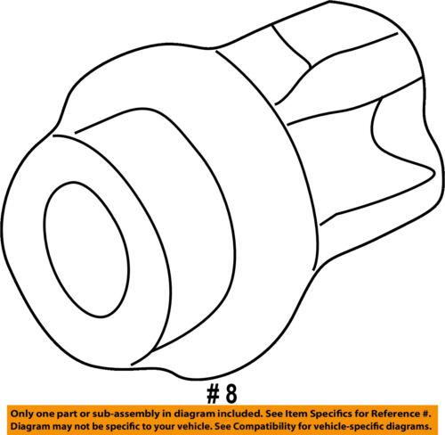 HONDA OEM-Headlight Headlamp Socket 33302SR3A01