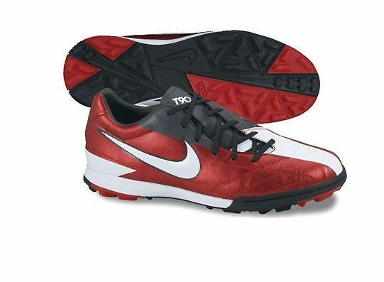 The latest discount shoes for men and women Nike Total 90 Shoot IV TF Turf 2018 Soccer Shoes Brand New Red - Black  White