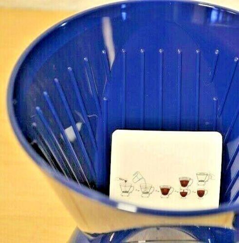 Clever Goutteur C-70777-CCD#4 Cafetière en Bleu Modèle L