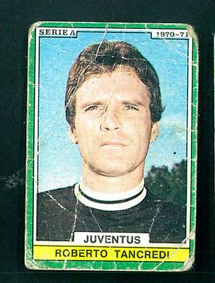 GG FIGURINA EDIS-ANNO 1970//71-JUVENTUS-TANCREDI