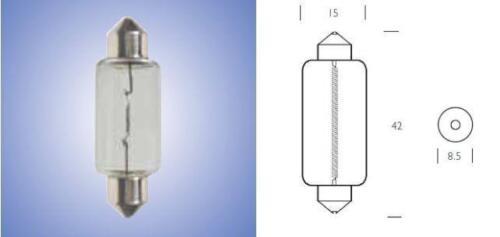 Remplacement SV8.5 12 V 21 W Feston Ampoule 273 Ampoules X10 Moto Classique