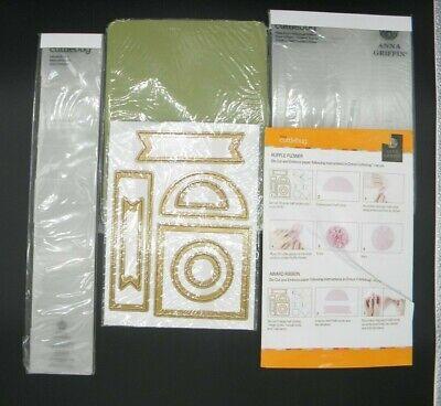 Anna Griffin® Cuttlebug™ Paper Tricks 2 Folders /& Dies