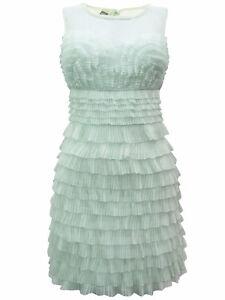 Miss-Selfridge-Pleated-Frill-Dress-UK-Size-6-14-Summer-Party-Casual-Sleeveless