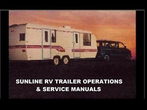 image is loading sunline-rv-trailer-camper-operation-manuals-430pgs-w-
