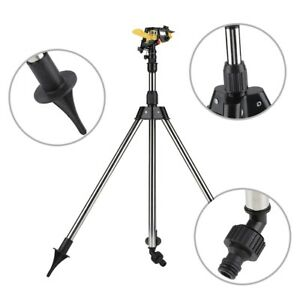Stainless Steel Tripod Water Irrigation Tool Plastic Sprinkler Auto System
